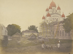Hindoo temple at the banks of the Hooghly [Calcutta]